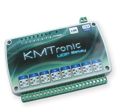 KMtronic UDP LAN Controled Internet relay board